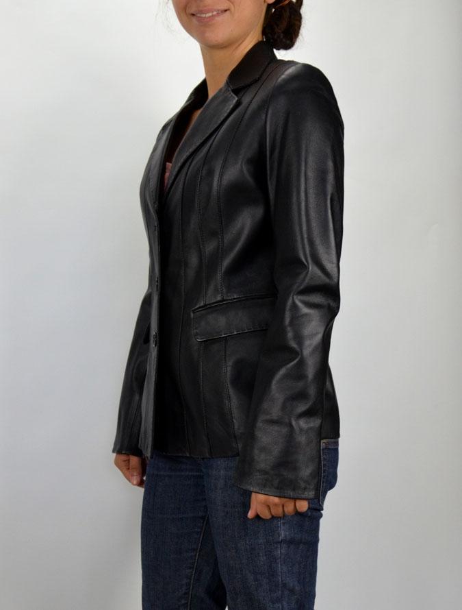18c37b212b 062 női fekete bőrkabát – Bőrkabát és bőrdzseki a gyártótól
