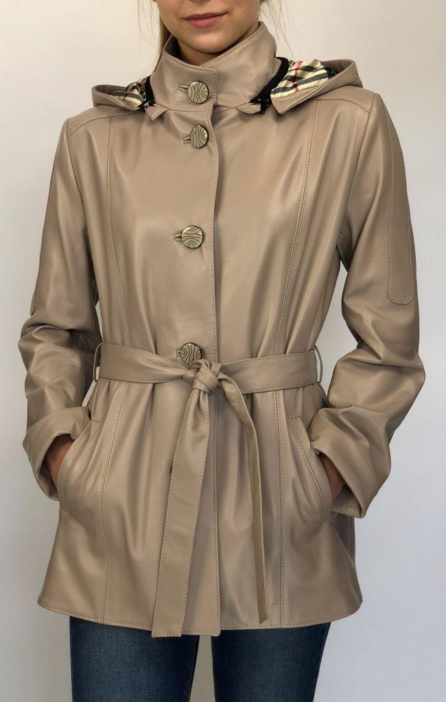 BÖRBI női bézs bőrkabát – Bőrkabát és bőrdzseki a gyártótól dd578ea946