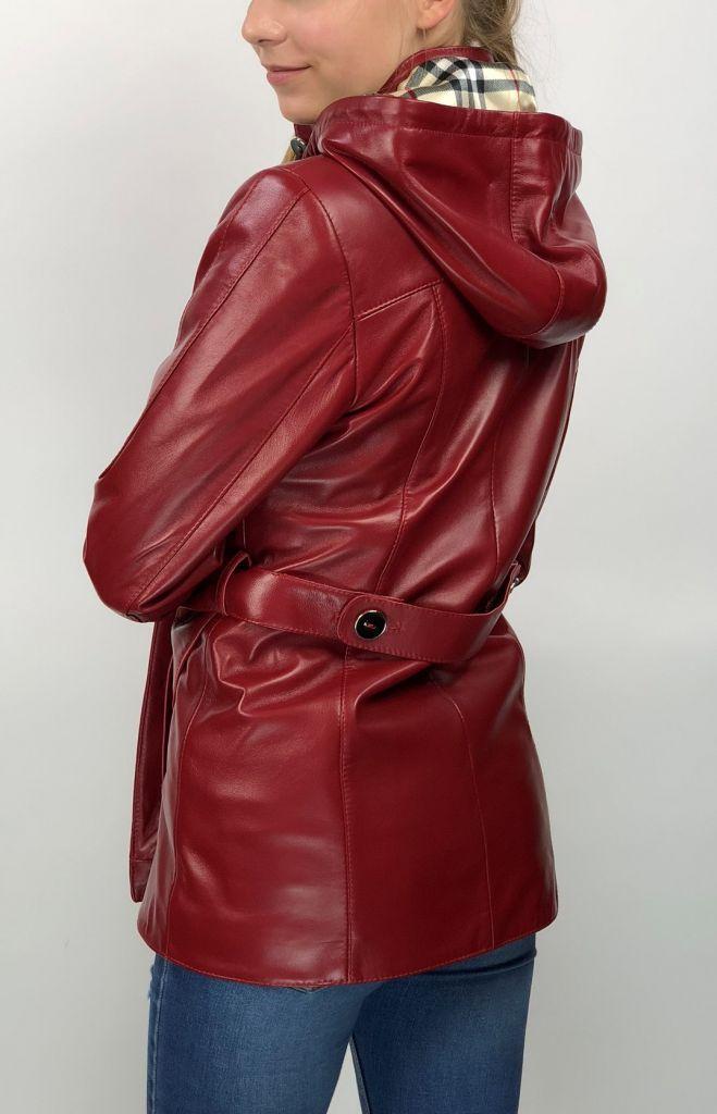 cc105de48f BÖRBI női piros bőrkabát – Bőrkabát és bőrdzseki a gyártótól