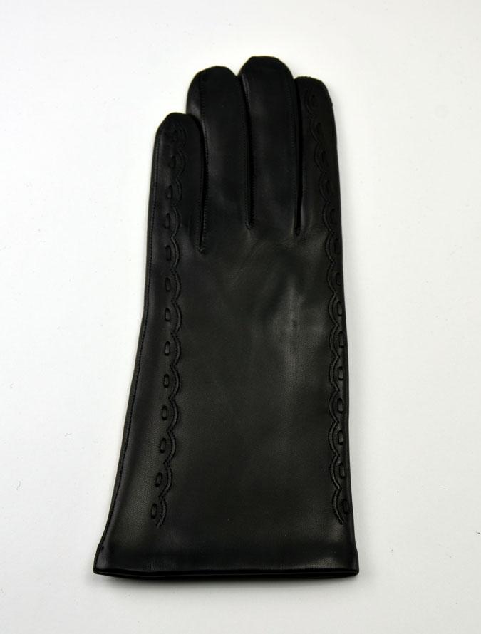 Női bőrkesztyű kétoldalt díszített – Bőrkabát és bőrdzseki a gyártótól 03ab0c43fa
